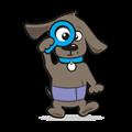 Plasband hond