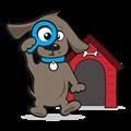 Klein hondenhok
