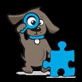 Puzzel met honden