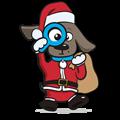 Kerst speelgoed hond