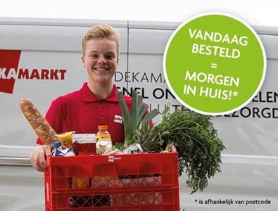 maaltijden & boodschappen Dekamarkt: Online boodschappen bestellen met bezorgservice