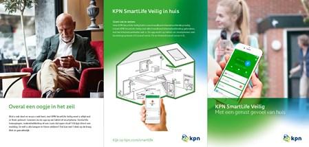 Klussen huis & tuin KPN SmartLife: Vanuit 1 app je huis bedienen