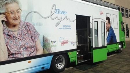 ontmoeting De Zilverlijn, belservice voor ouderen