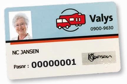 Vervoer Valys: Regio- of deeltaxi