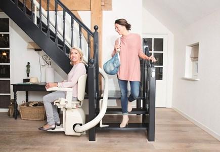 Klussen huis & tuin Altijd een passende traplift