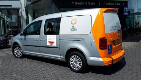 Vervoer Zonnebloemauto Drachten