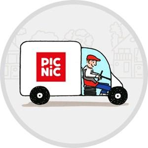 maaltijden & boodschappen Picnic: De online supermarkt gratis aan huis