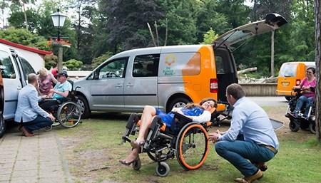 Vervoer Zonnebloemauto Den Bosch