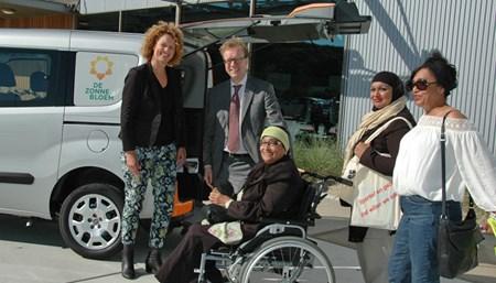 Vervoer Zonnebloemauto Den Haag