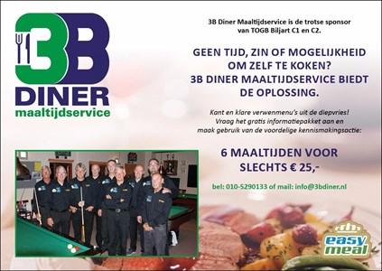 maaltijden & boodschappen 3B Diner: Maaltijdbezorging aan huis