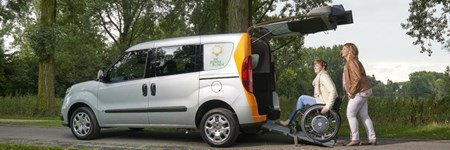 Vervoer Zonnebloemauto Rotterdam Feijenoord
