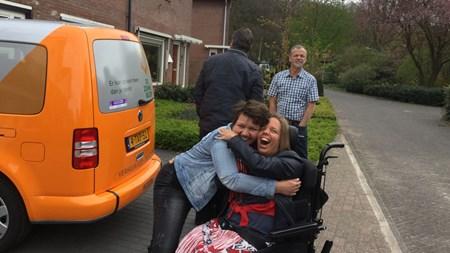 Vervoer Zonnebloemauto Amsterdam