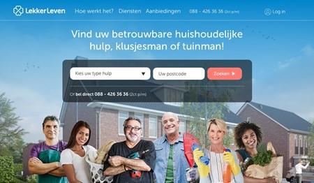 Huishoudelijke hulp LekkerLeven: Huishoudelijke hulp