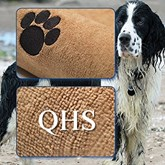 Honden - Handdoek - Huisdier - Microfiber - Vocht opnemend - Mosterdkleur - Droogdoek voor honden- 140 cm x 70 cm