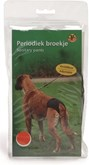 Beeztees Periodiek Broekje - Hond - Zwart - XXL - 60-70 cm