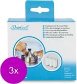 Drinkwell Vervangende Koolstoffilter - Hondendrinkbak - 3 x per stuk