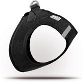 Curli Vest Cord hondentuigje - M - borstomvang 44-48 cm - Zwart