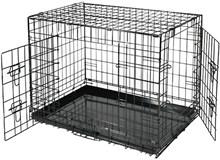 REKE Hondenbench - Zwart - 106 x 71 x 76 cm