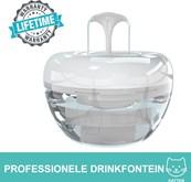 Luxe Qwell Drink Fontein voor Kat & Hond - Stille Diervriendelijke Water Dispenser - 1,5 Liter - 2 Standen - Dieren Drinkbakken - Waterval - Waterautomaat - 99% Schoon Drinkwater - Usb Voeding & Adapter - Professioneel FilterX - Universeel Toepasbaar