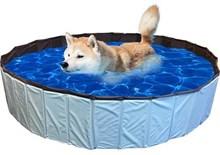 De Huisdiersuper Hondenzwembad - 80 x 80x 20 cm - Blauw