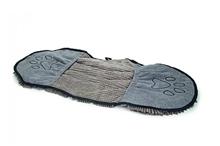 Dirty Dog Shammy - Hondenhanddoek - Grijs - 80x35 cm