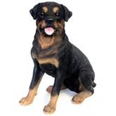 Tuinbeeld Rottweiler waakhond 53 cm