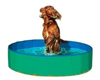 Karlie doggy bad groen/blauw 80 cm