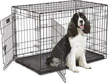 Petcomfort Hondenbench 2 Deurs - Zwart - 95 x 57 x 64 cm