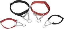 Beeztees Verstelbare Hondenhalsband - Zwart - M - 35-50 cm x 20 mm