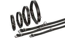 Beeztees - Hondenhalsband - Zwart - 37,5-46,5 cm x 20mm