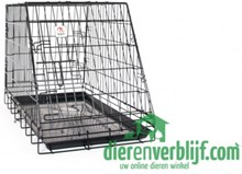 Autobench - 93x58x65,5cm - Zwart