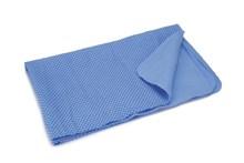 Beeztees absorberende drooghanddoek (blauw) voor honden