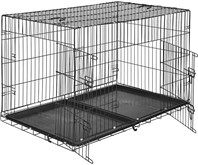 TecTake - Hondenkooi traliebox 122 x 76 x 81 cm - 402297