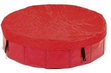 Flamingo Hondenzwembad afdekzeil - Rood - 160 cm