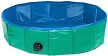 Karlie doggy pool hondenzwembad groen / blauw 160x30 cm
