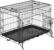 TecTake - Hondenkooi traliebox 76 x 47 x 51 cm - 402294