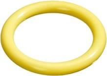 Flamingo Hondenspeelgoed Dental ring - Geel - 14 x 14 x 1