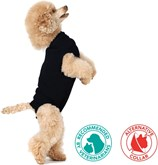 Suitical recovery suit hond zwart s+ 49-57 cm