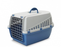 Transportbox grijs/blauw