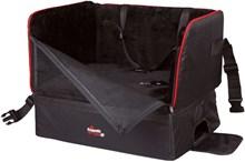 Trixie Autozetel Voor Kleine Hond Nylon - Transportkooi - 45cm x 38cm x 37cm - Zwart