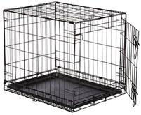 Hondenbench Sterk 51x31x36cm REKE - Zwart - 1 deurs