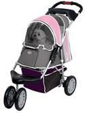 Innopet buggy first class roze/grijs _