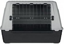 Trixie Reismand Journey - Reiskennel - Grijs / Donkergrijs - 77x51x43 cm