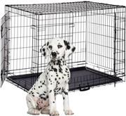 relaxdays Hondenbench opvouwbaar draadkooi transportbench transportbox hond S-XXXL XXXL