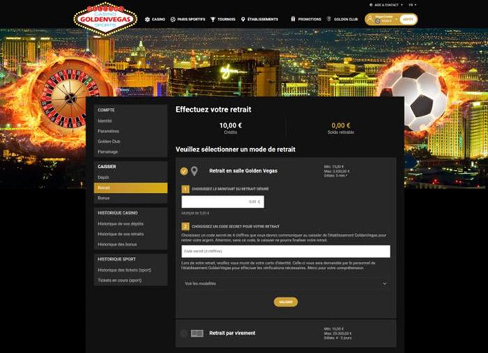 Golden Vegas dépôts.jpg